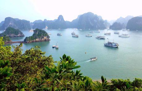 Dao Ti Top, Ti Top Island in der Ha-Long-Bay in Vietnam