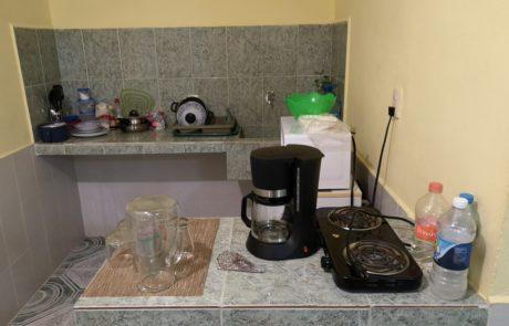 Küche in der Posada Laury