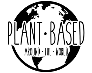 Plant Based Around The World Logo Globe globus welt vegan reisen