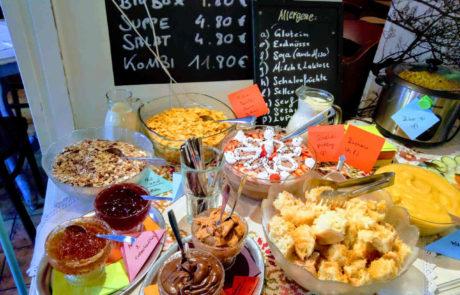 Harvest Frühstücksbuffet Vegan Frühstücken in Wien