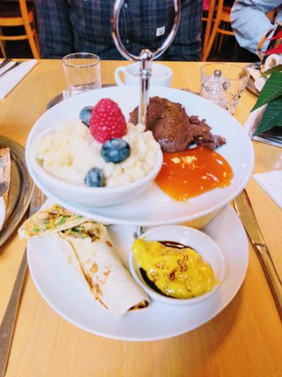 Vegan Frühstücken in Wien in der Hollerei