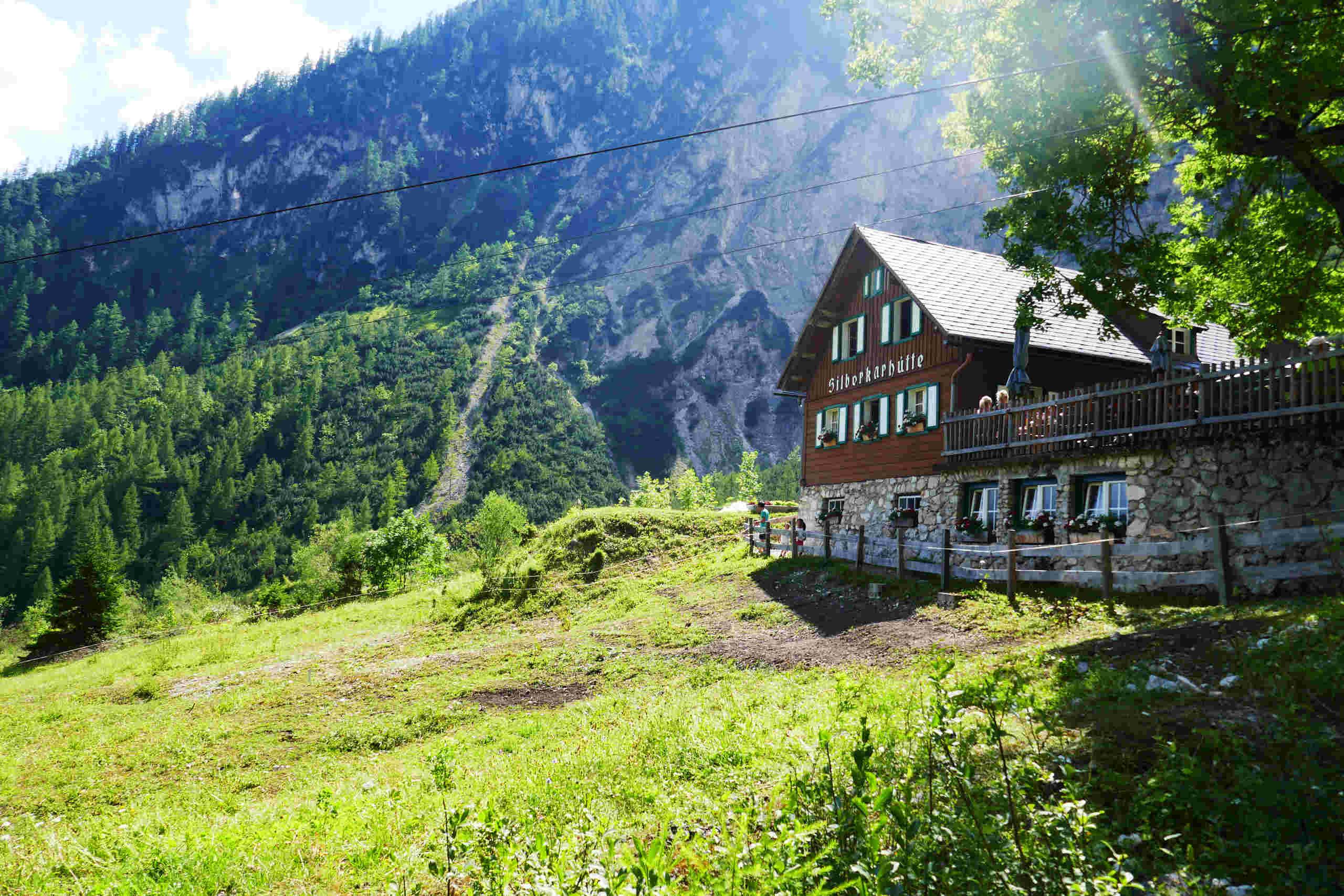 Silberkarklamm Hütte Steiermark Schladming Österreich