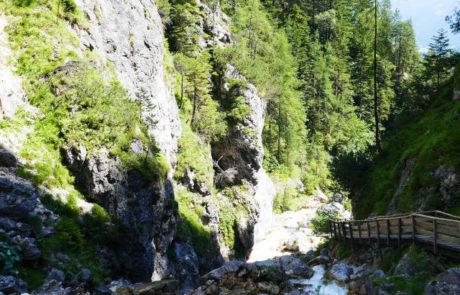 Silberkarklamm Steiermark Österreich